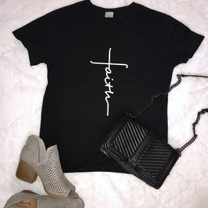 Tops - Faith Graphic Tee